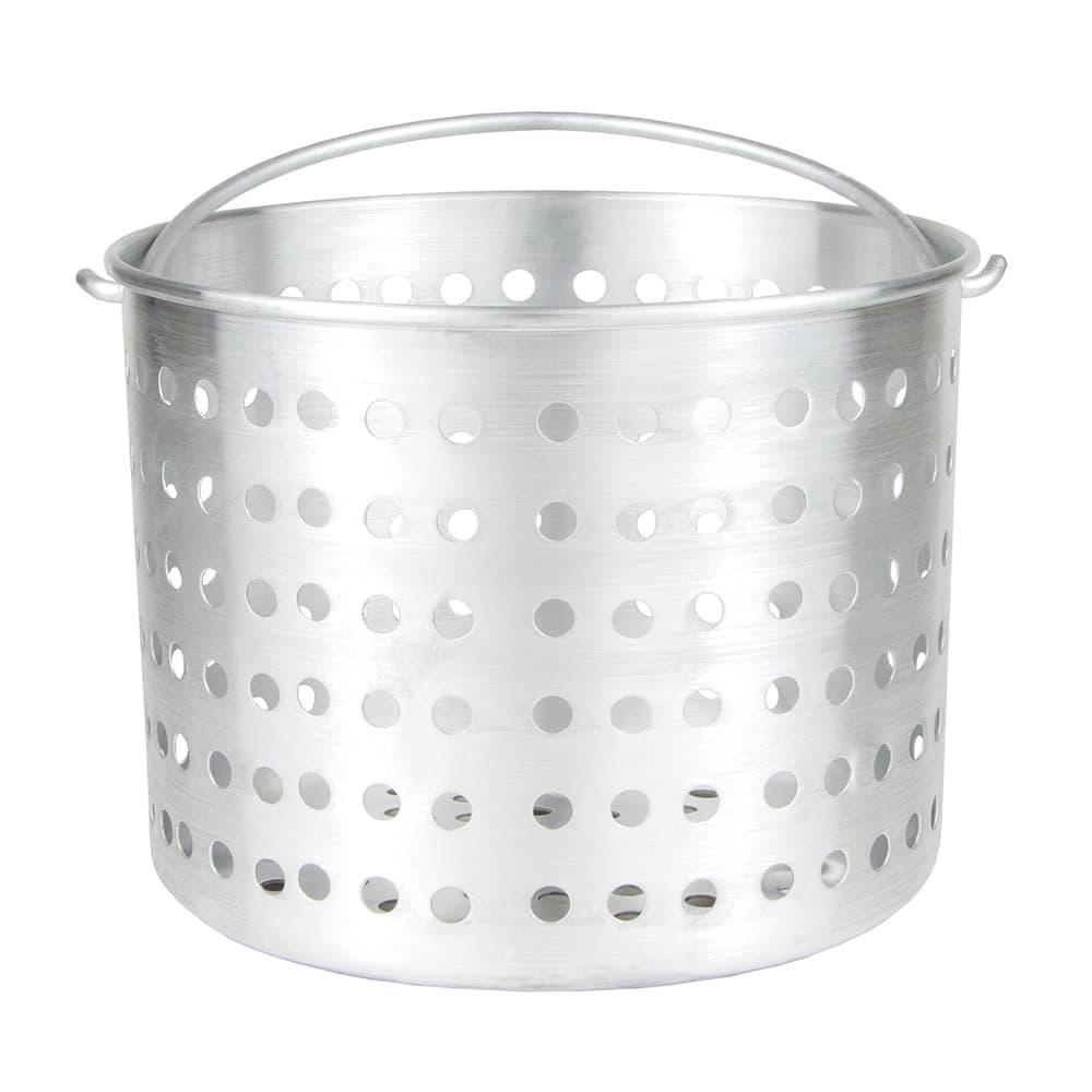 "Update ABSK-32 32-qt Aluminum Steamer Basket, 12.75"" dia., 9.375""H"