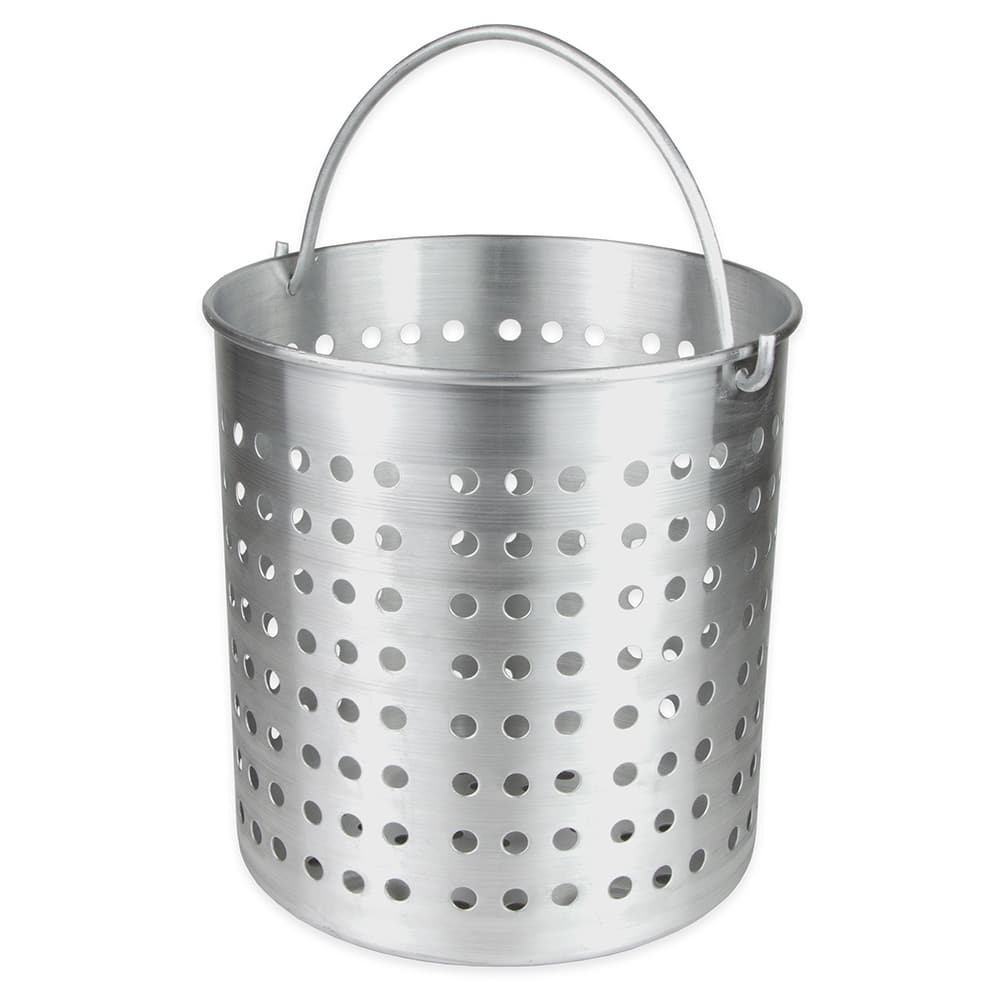 "Update ABSK-40 40-qt Aluminum Steamer Basket, 12.75"" dia., 12.06""H"
