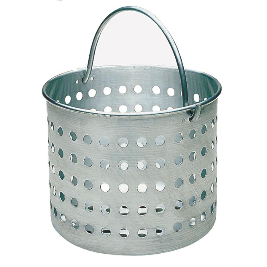 "Update ABSK-60 60 qt Aluminum Steamer Basket, 14.5"" dia., 15""H"