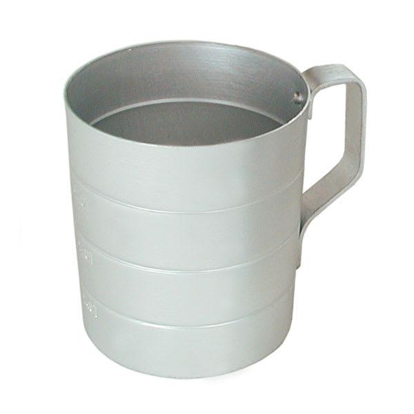Update ADME-20 2 qt Dry Measuring Cup - Aluminum