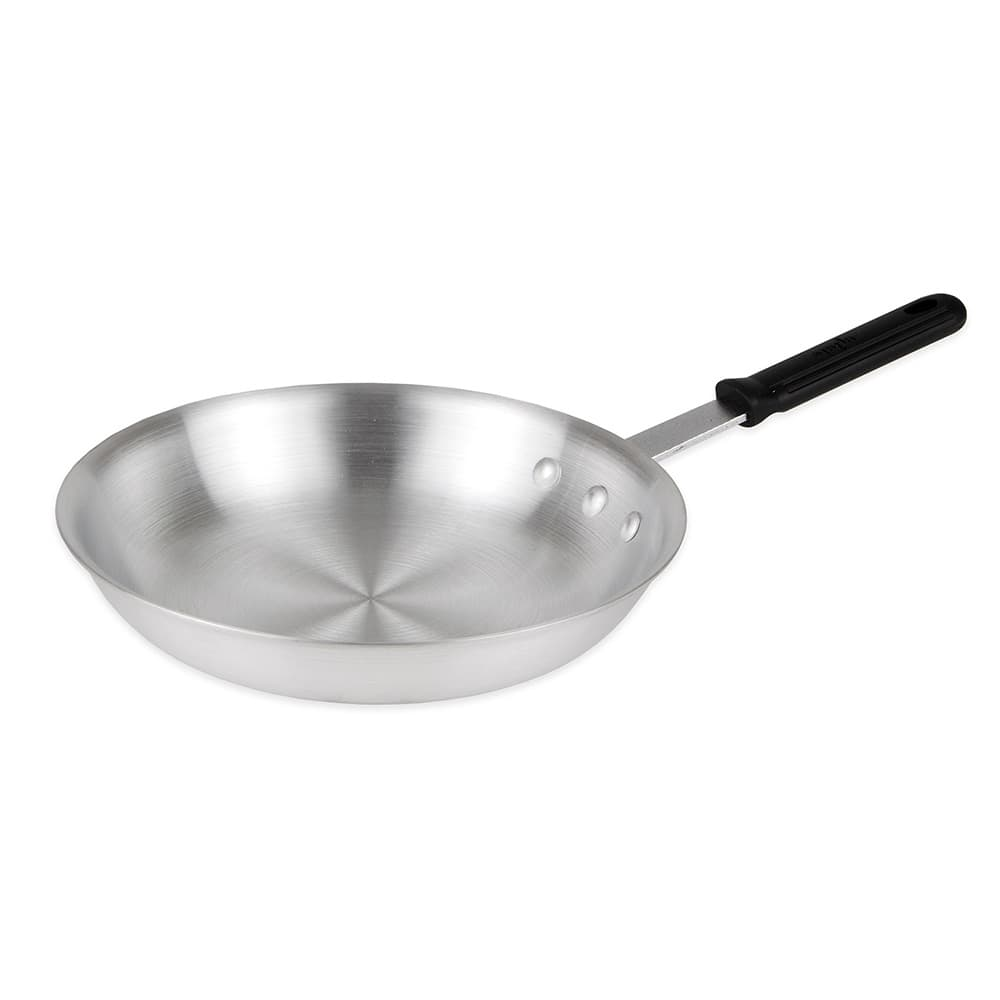 """Update AFP10H 10"""" Aluminum Frying Pan w/ Solid Silicone Handle"""