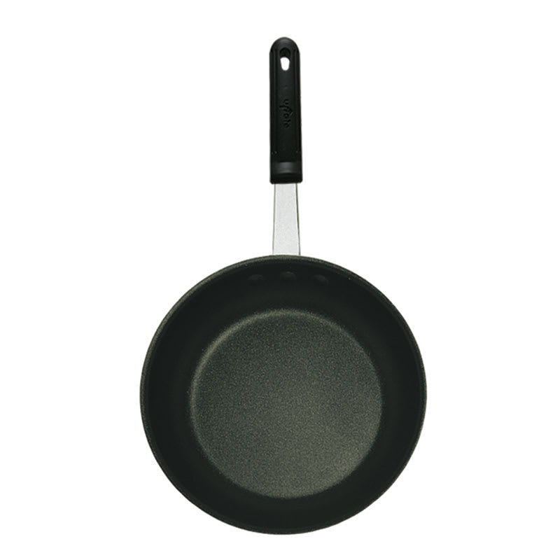 "Update AFQ14H 14"" Aluminum Frying Pan w/ Solid Silicone Handle"