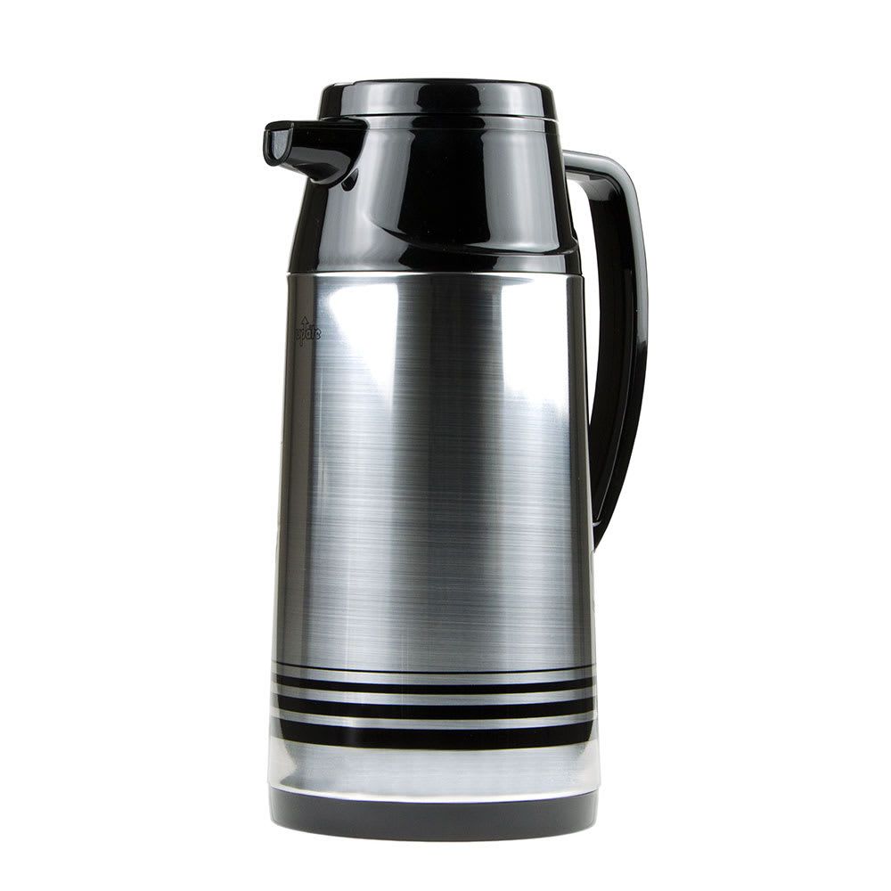 Update AIS-190/SF 64 oz Vacuum Beverage Server - Insulated, White/Stainless