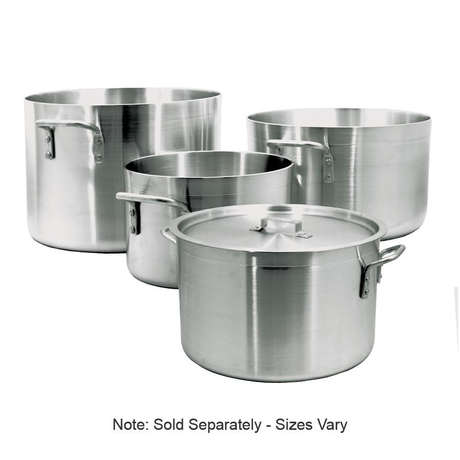 "Update ALP-26 26-qt Aluminum Sauce Pot - 14.25"" x 9.625"""