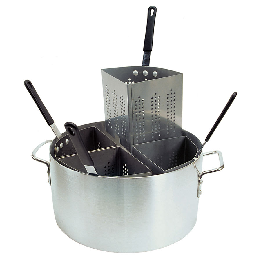 Update APSA-4 20-qt Pasta Cooker Set - (4)Stainless Insets, Aluminum