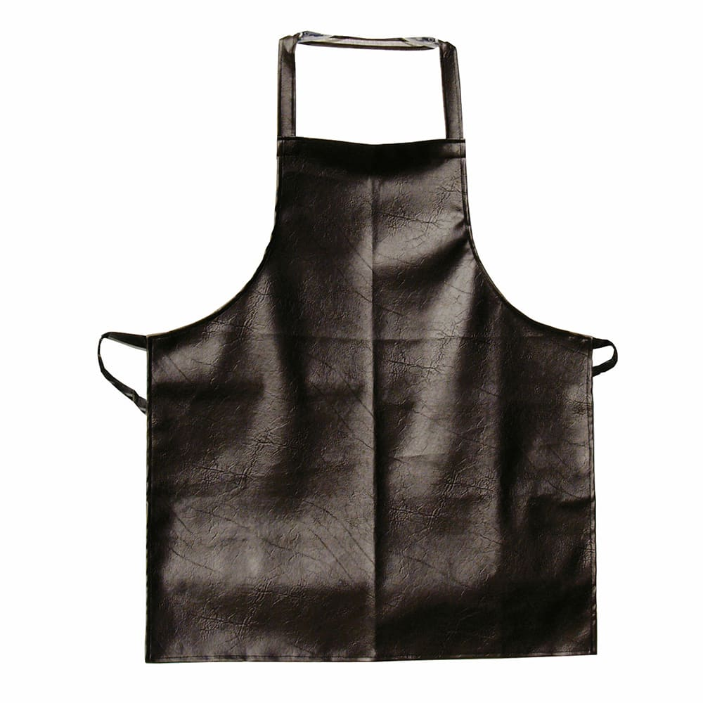 "Update APV-2641HD Heavy-Duty Bib Apron - 26x41"" Vinyl, Brown"