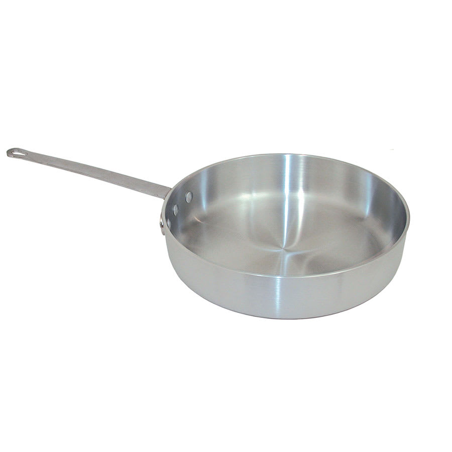 "Update ASAU-7 14"" Saute Pan - Heavy-Duty Aluminum"