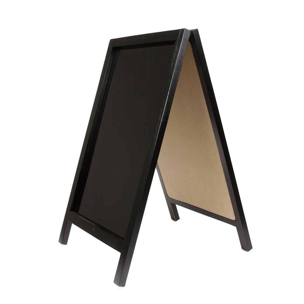 """Update ASIGN-2034 A"""" Style Sign - 20x34"""" Non-Magnetic, Wood Frame"""
