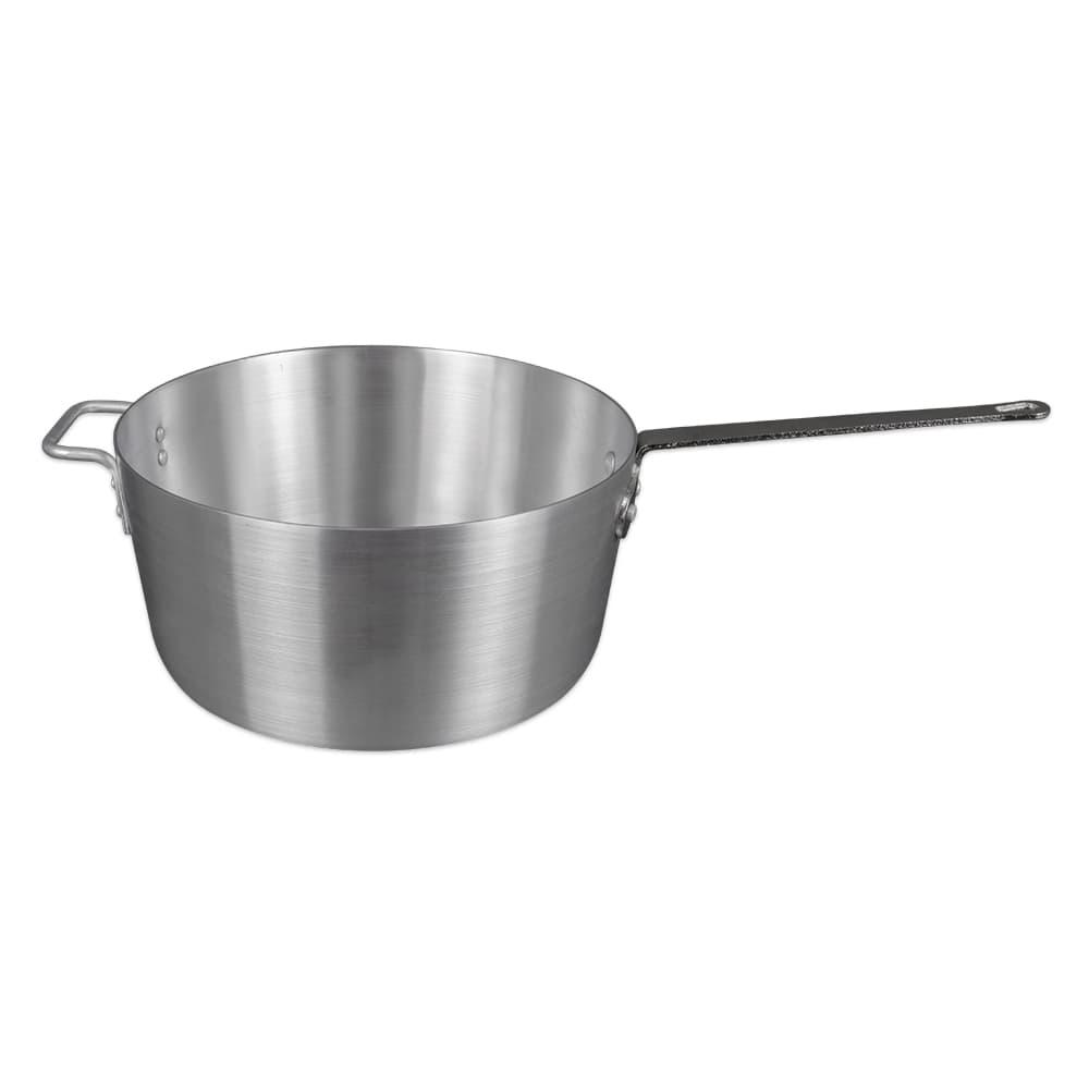 Update ASP-10 10 qt Aluminum Saucepan w/ Solid Metal Handle