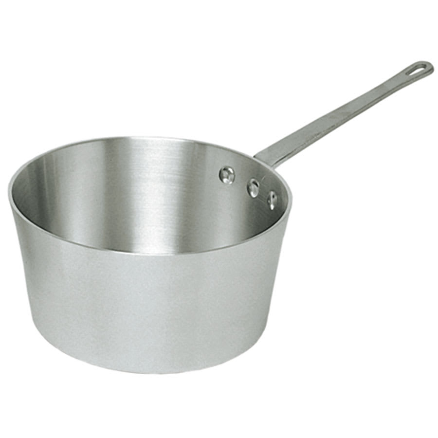 Update ASP-4 4 5 qt Aluminum Saucepan w/ Solid Metal Handle