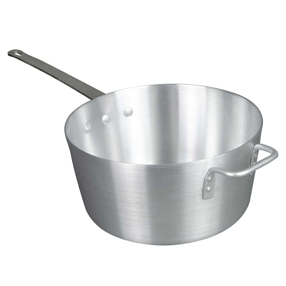 Update ASP-7 7 qt Aluminum Saucepan w/ Solid Metal Handle