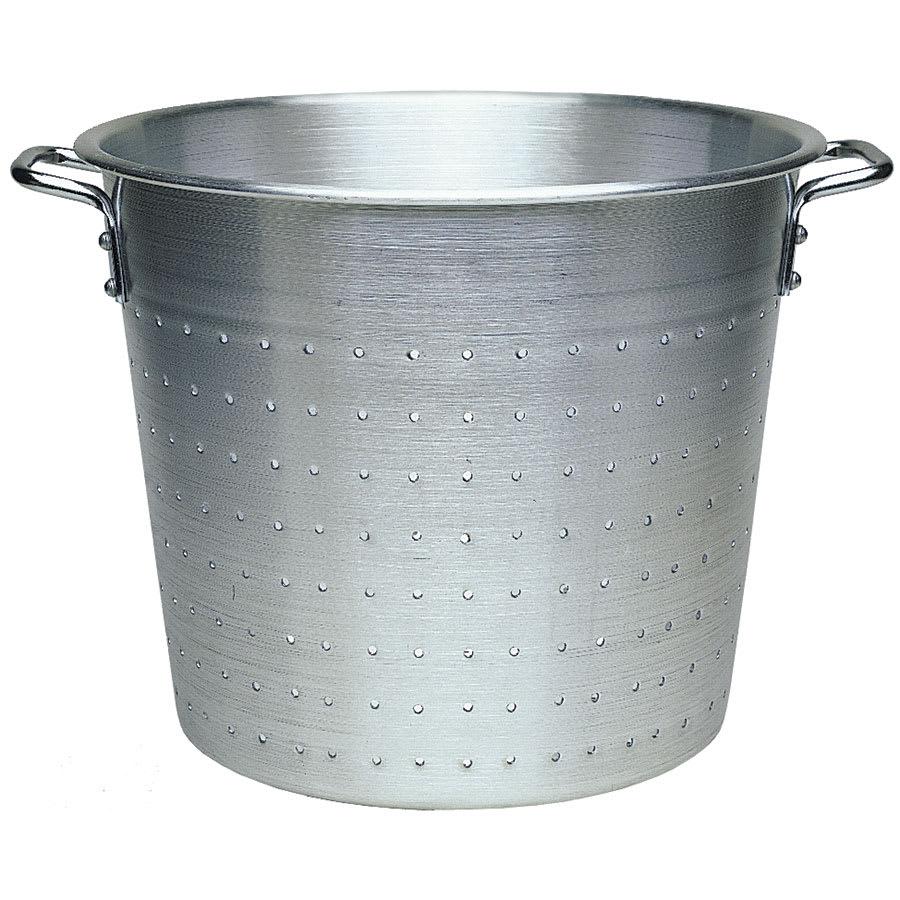 """Update AVC-13 13"""" Vegetable Container - Aluminum"""