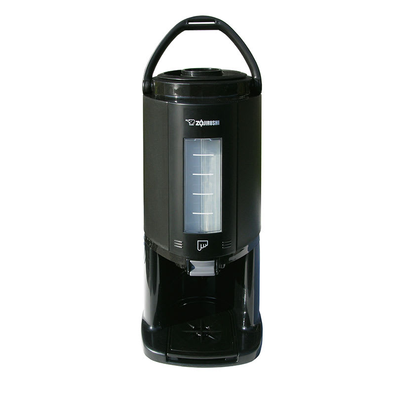 Update AY-AE25 2.5L Thermal Gravity Beverage Dispenser - Glass Lined, Detachable Base