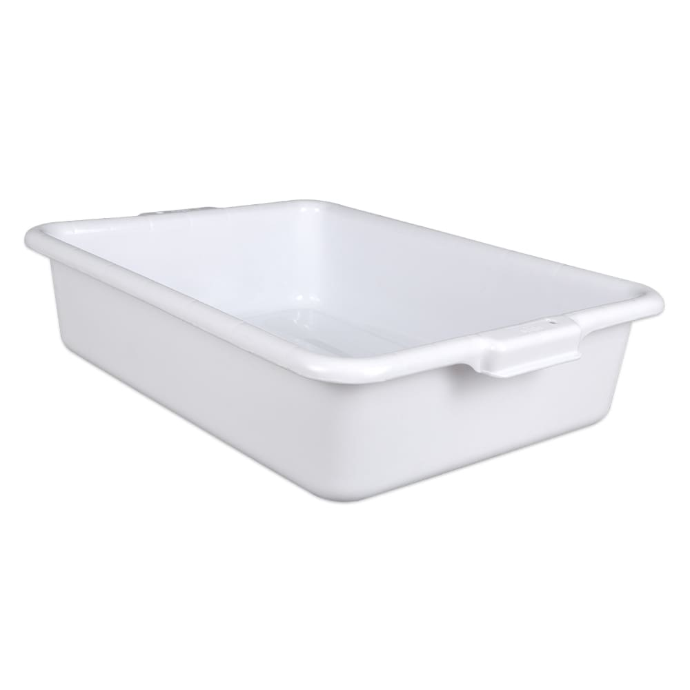 "Update BB-5FSN Freezer -Safe Tote Box - 20 1/2x15 1/4x5"" Polypropylene, White"
