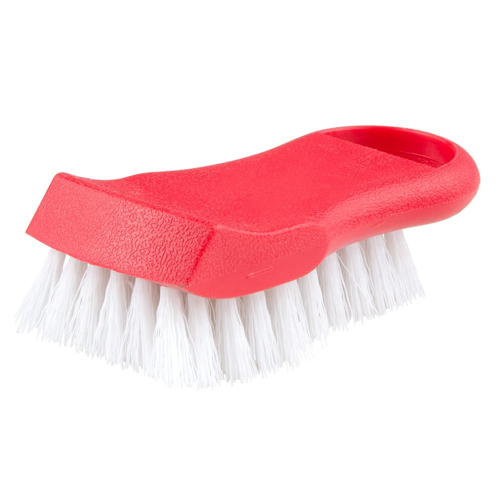"Update BRP-RE 6"" Cutting Board Brush - Red"