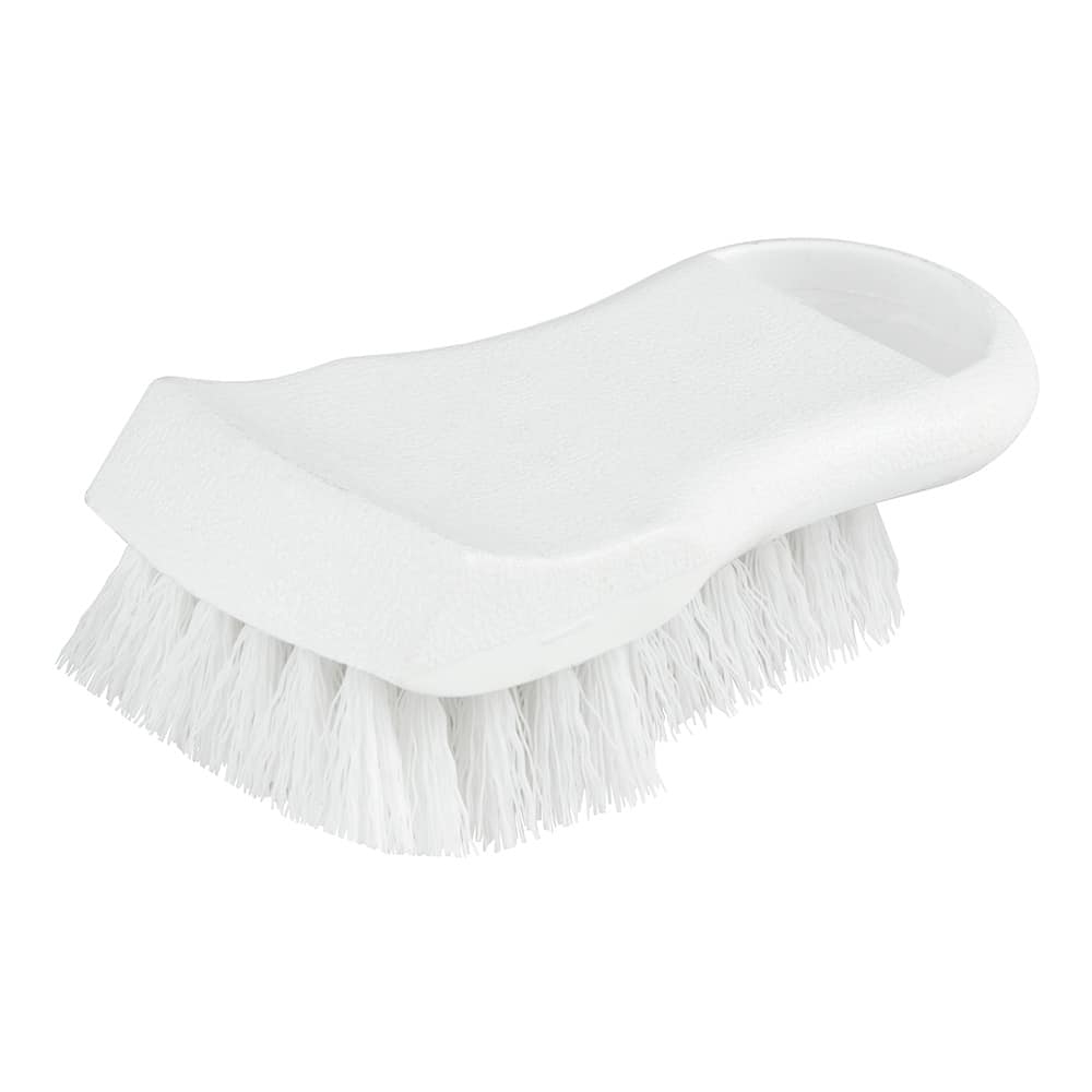 "Update BRP-WH 6"" Cutting Board Brush - White"