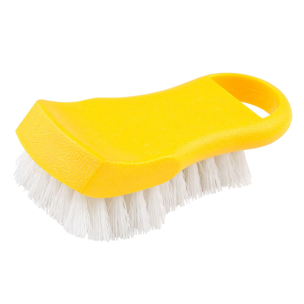 "Update BRP-YE 6"" Cutting Board Brush - Yellow"