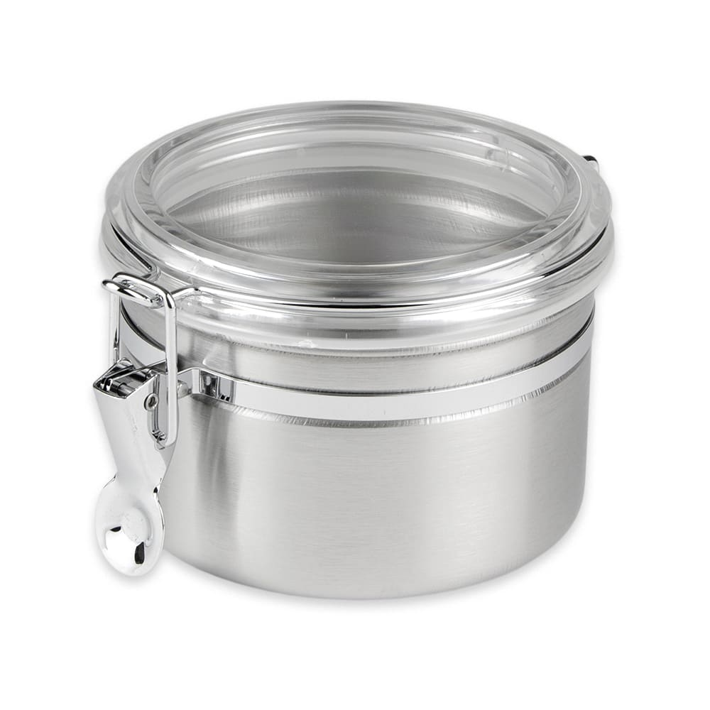 Update CAN-4AC 30-oz Storage Canister - Stainless/Plastic Lid