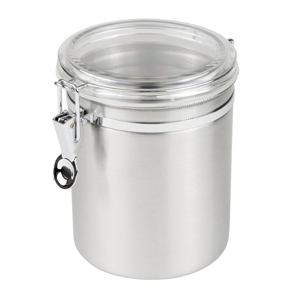 Update CAN-7AC 55 oz Storage Canister - Stainless/Plastic Lid