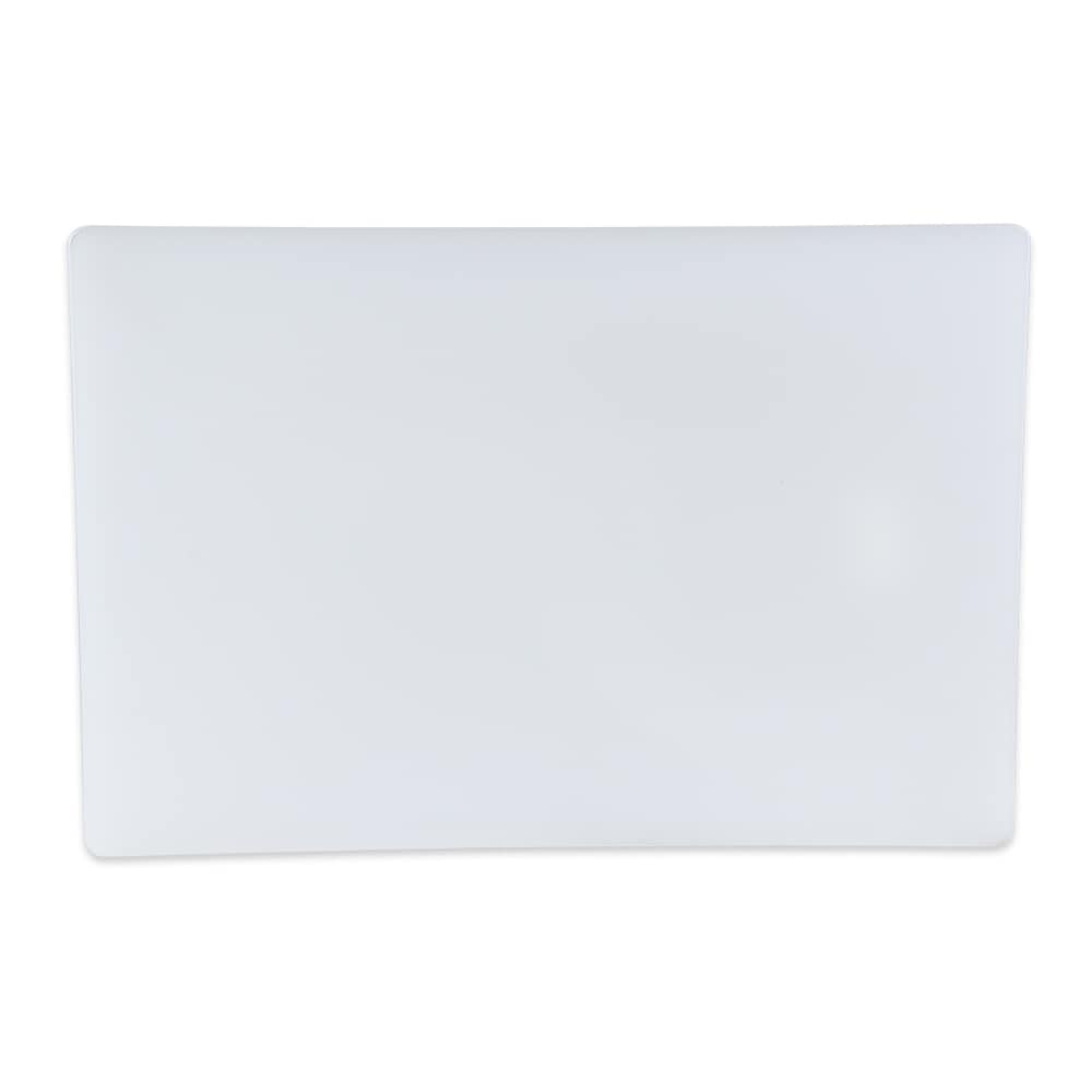 "Update CB-1218 Poly Cutting Board - 12x18x1/2"" White"