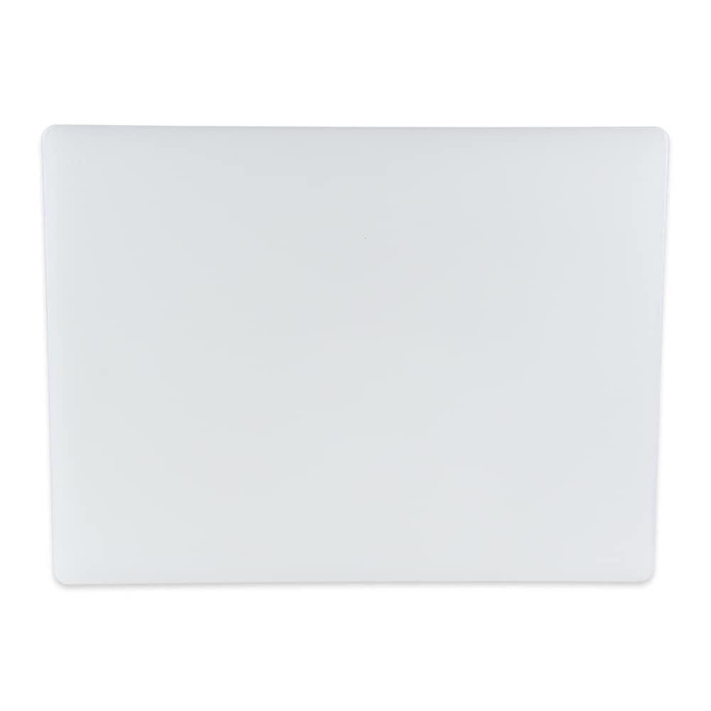 """Update CB-1520 Poly Cutting Board - 15x20x1/2"""" White"""