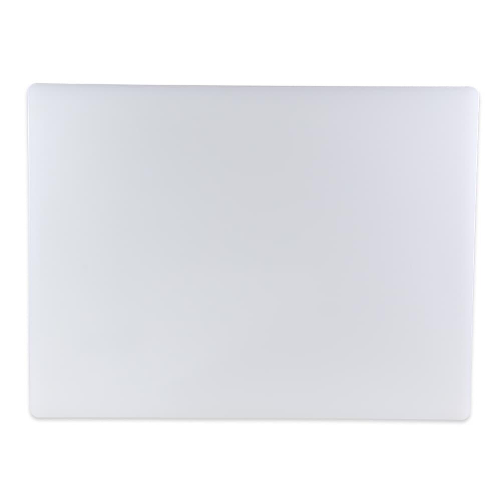 """Update CB-1824 Poly Cutting Board - 18x24x1/2"""" White"""