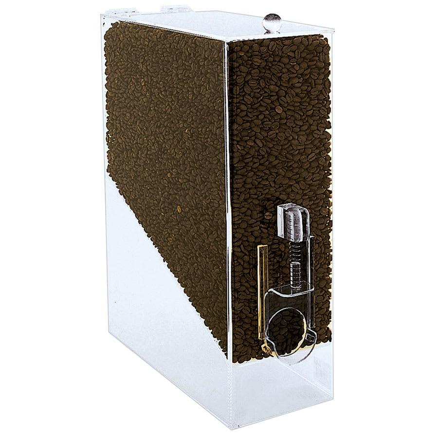 Update CBD-AC Coffee Bean Dispenser - 9-lb Capacity, Acrylic