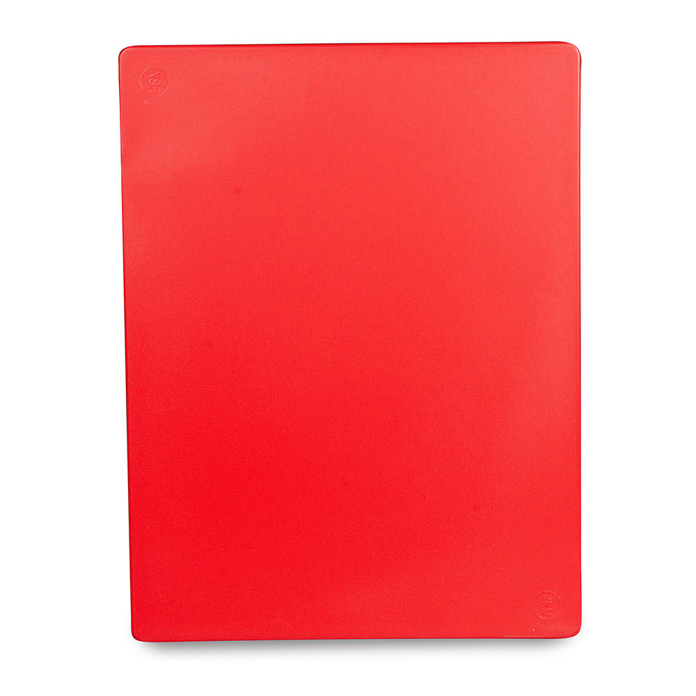 "Update CBRE-1520 Poly Cutting Board - 15x20x1/2"" Red"
