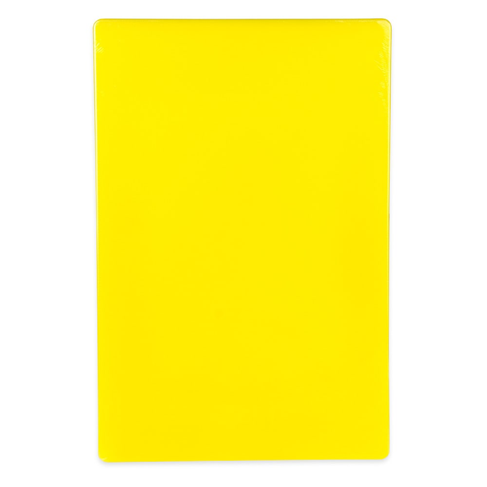"Update CBYE-1218 Poly Cutting Board - 12x18x1/2"" Yellow"