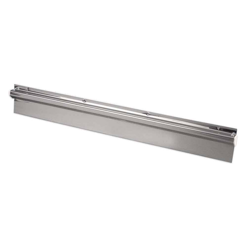 "Update CHS-24 Wall-Mount Check Holder - 24x3-3/8x3/4"" Stainless"
