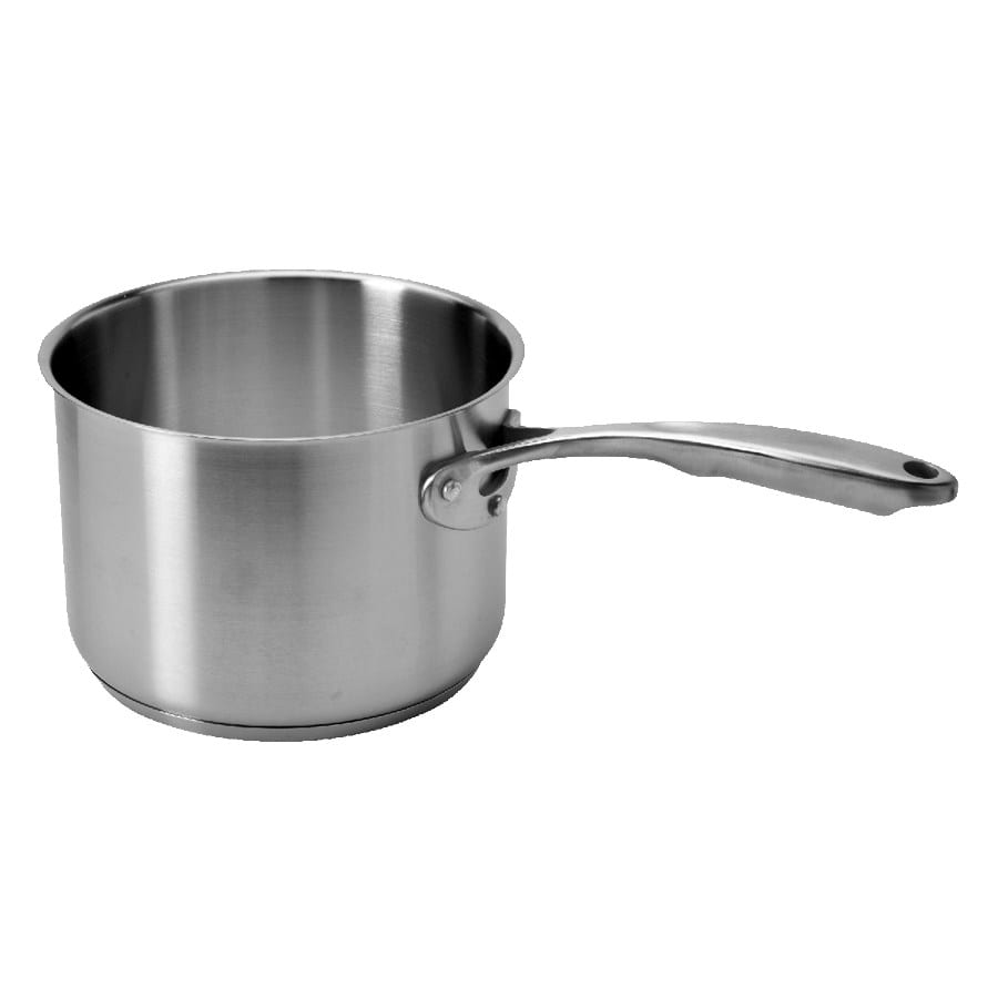 Update CSP-03 3 qt Stainless Steel Saucepan w/ Solid Metal Handle