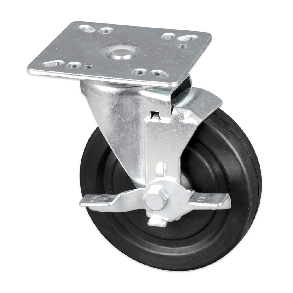 """Update CUTP-5L 5"""" Plate Caster w/ 400 lb Capacity"""