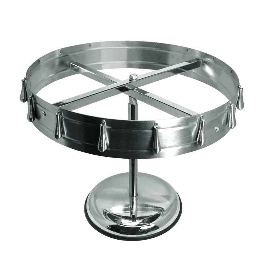 "Update CW12 13-1/2"" Check Wheel - Pedestal/Ceiling Mount Kit, Stainless"