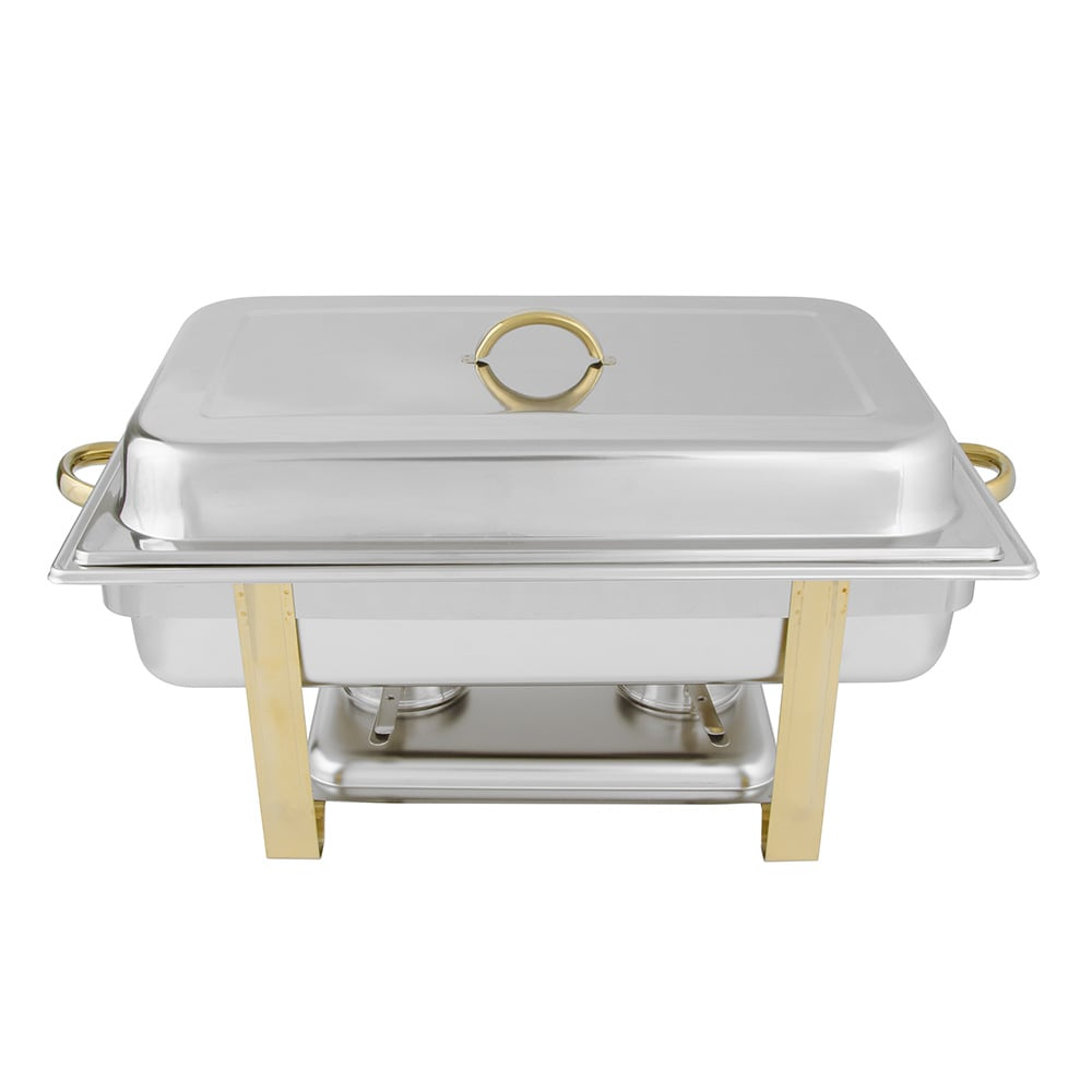 Update DC-6N Full Size Chafer w/ Lift-off Lid & Chafing Fuel Heat