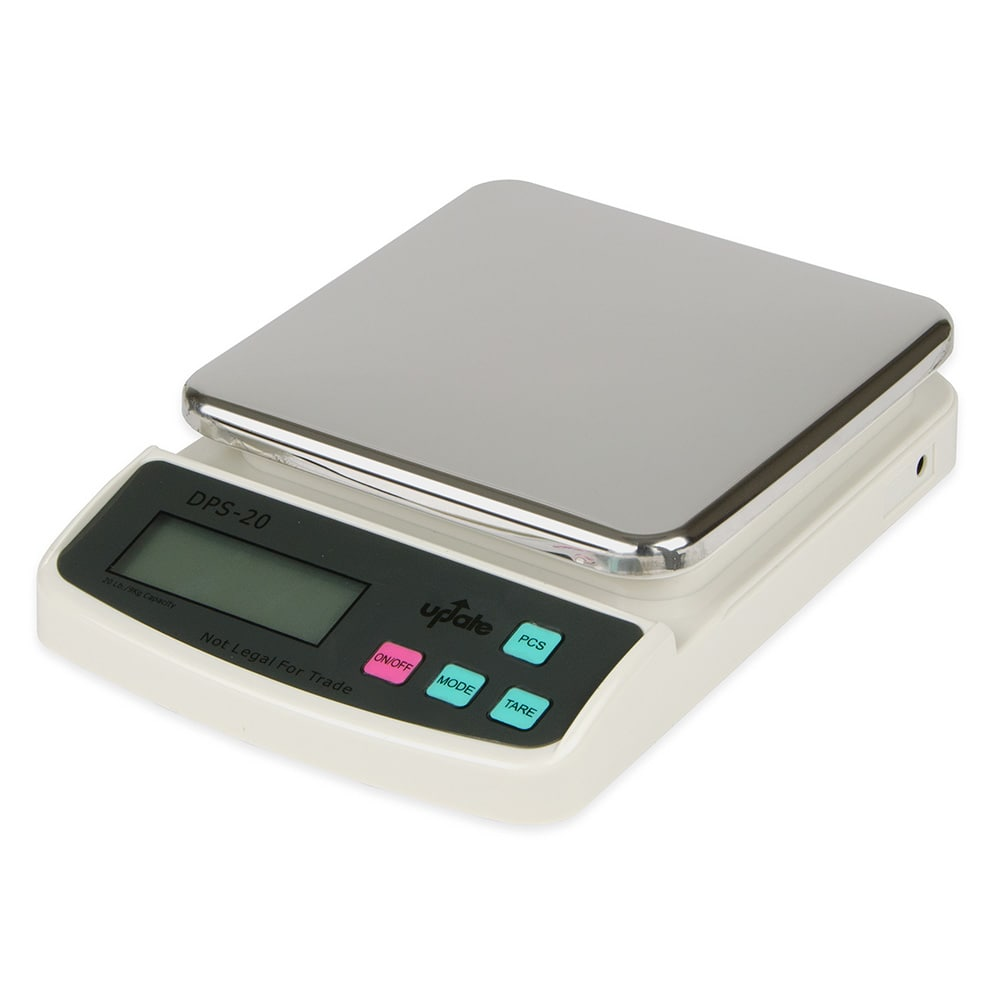 Update DPS-20 Digital Portion Scale - 20 lb x 0.01 oz, Stainless