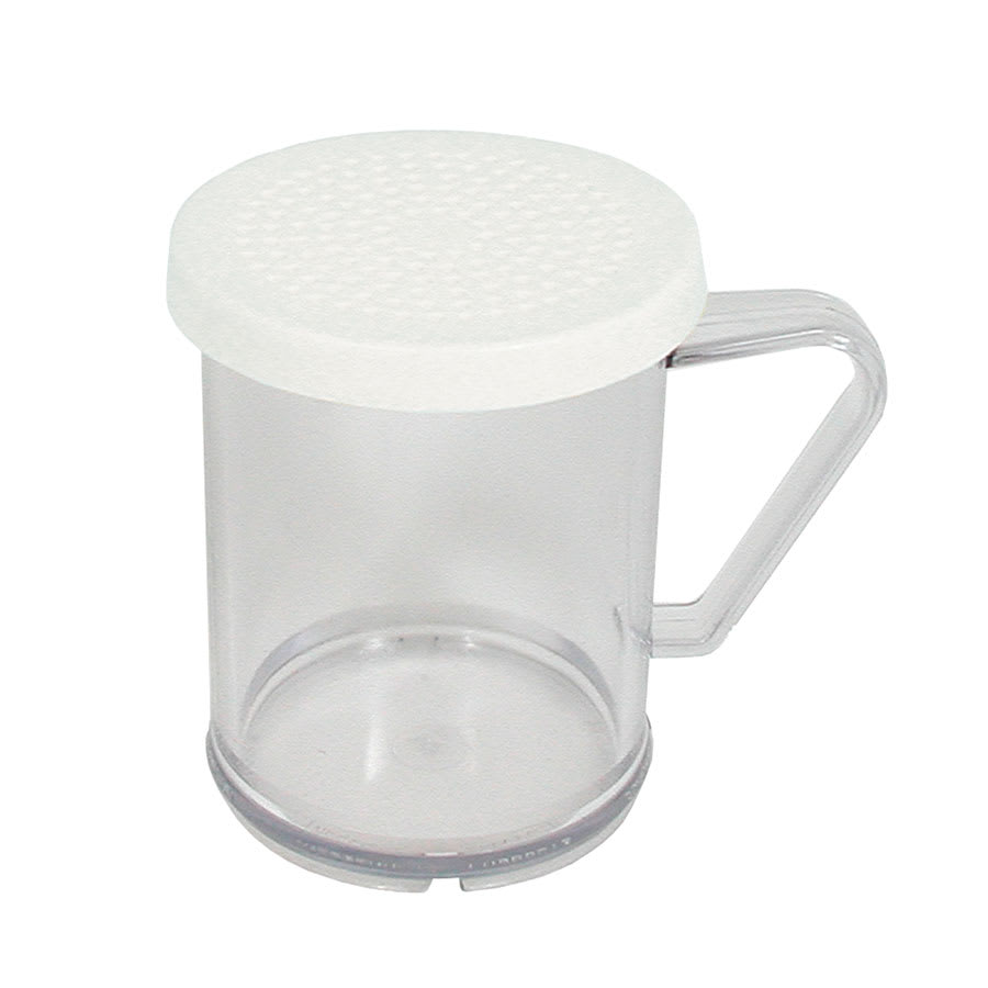 Update DR-PC 10-oz Dredge/Shaker with Handle - (3)Snap-On Lids, Plastic