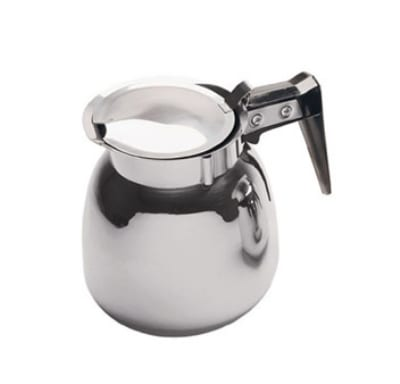 Update DSS-12/BK 64-oz Coffee Decanter - Black/Stainless