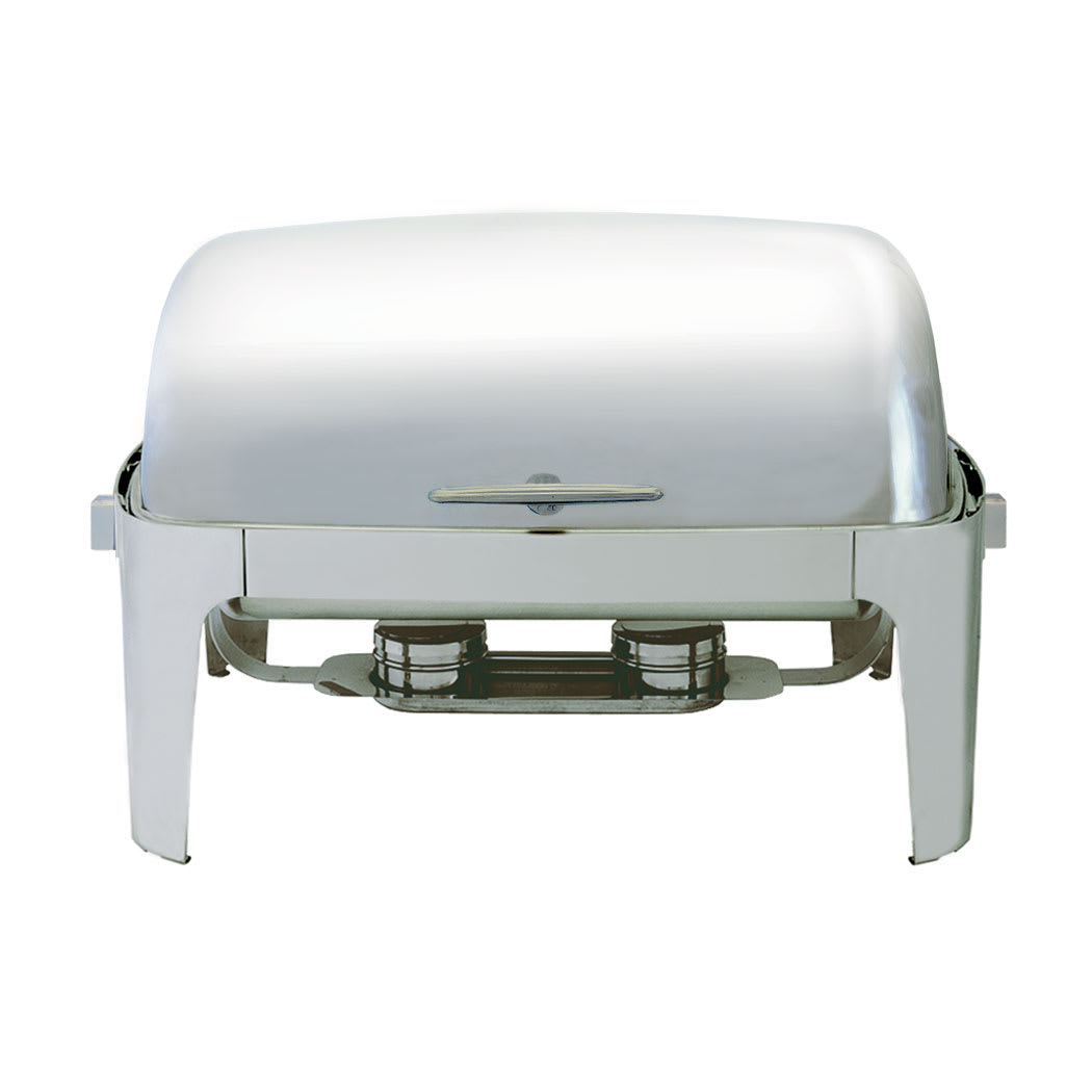Update EC-15N Full Size Chafer w/ Roll-top Lid & Chafing Fuel Heat