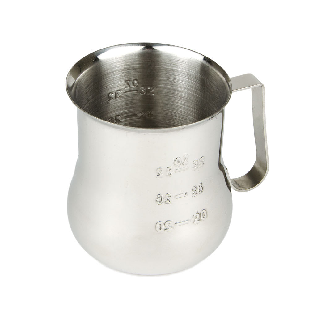 Update EPB-40M 40 oz  Espresso Milk Pitcher - Measuring Scale, Stainless