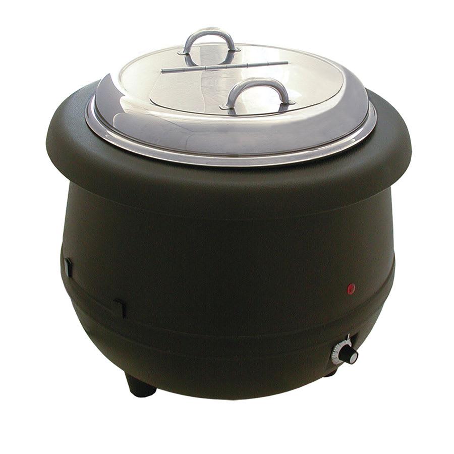 Update ESW-10AL 10-1/2-qt Soup Warmer - Wet Heat, Aluminum Liner