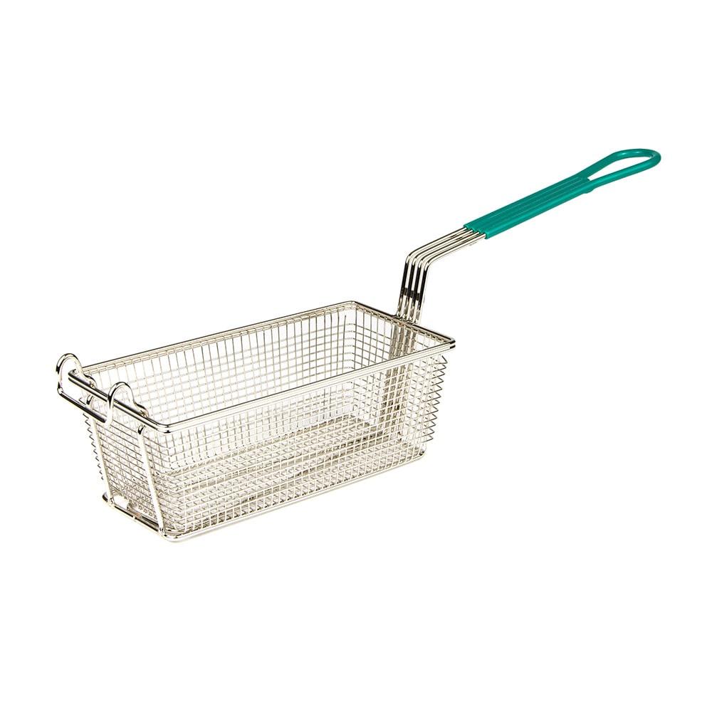 "Update FB-115PH Fryer Basket w/ Coated Handle & Front Hook, 11"" x 5.5"" x 4"""