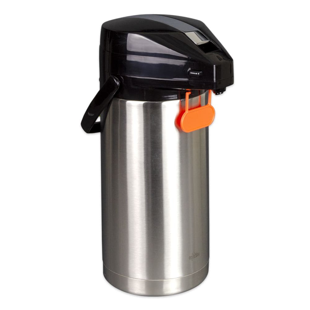 Update FLSV-30SF 3 Liter Airpot - Lever Style Lid, Stainless