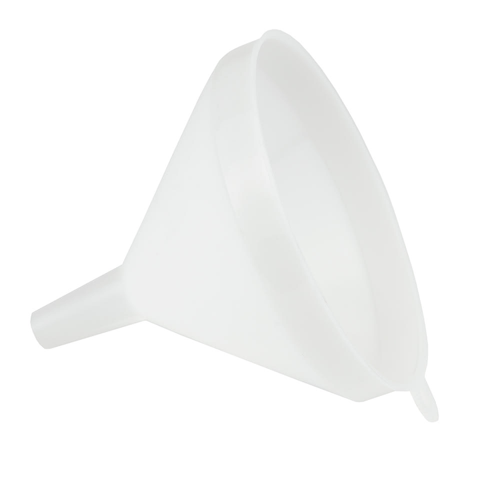 Update FPW-5 16-oz Plastic Funnel - White