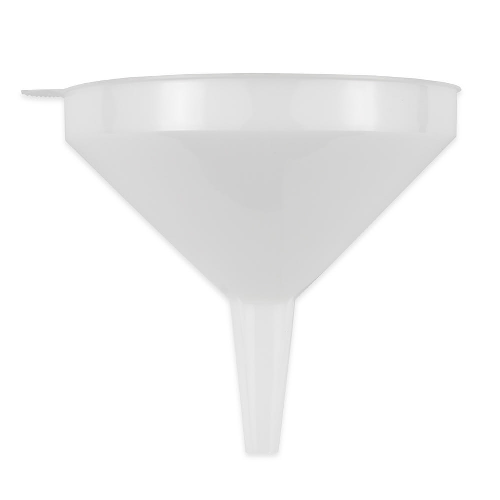 Update FPW-6 32 oz Plastic Funnel - White