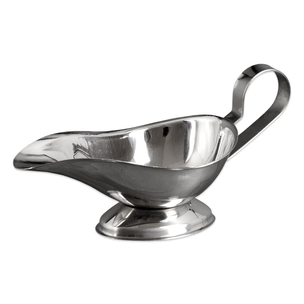 Update GB-3 3 oz Sauce Boat - Stainless