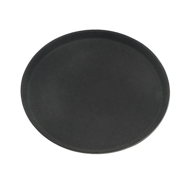 "Update GT-2700BK Oval Grip Tight Tray - 22x27"" Black"