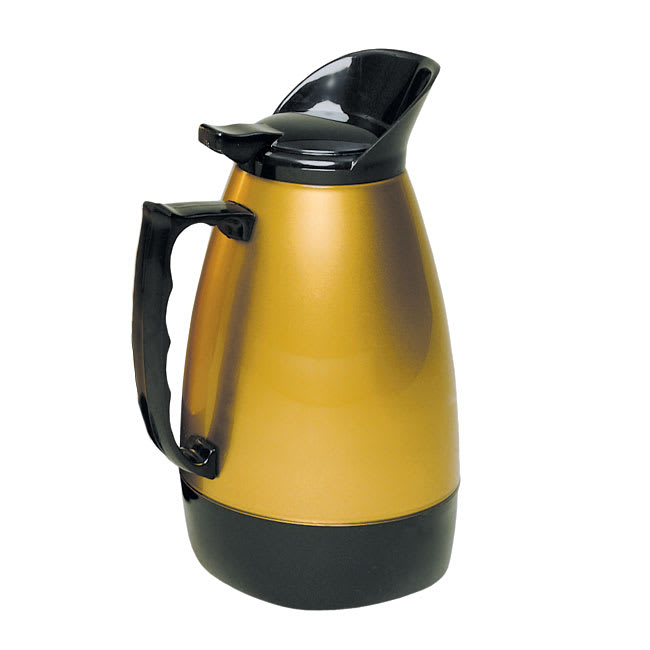 Update H422/64 64-oz Insulated Coffee Server - Black/Gold Traditional