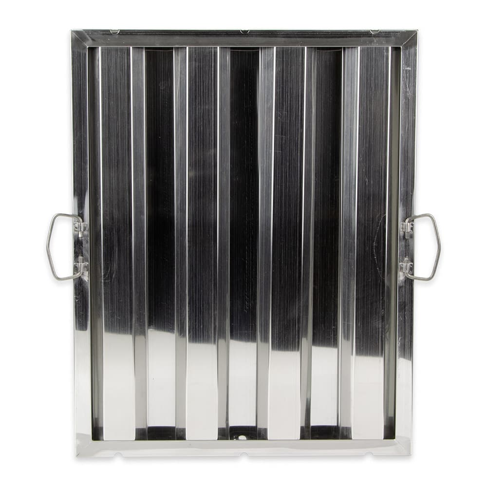"Update HF-1620 Hood Baffle Filter - 15.5"" x 19.5"", Stainless"