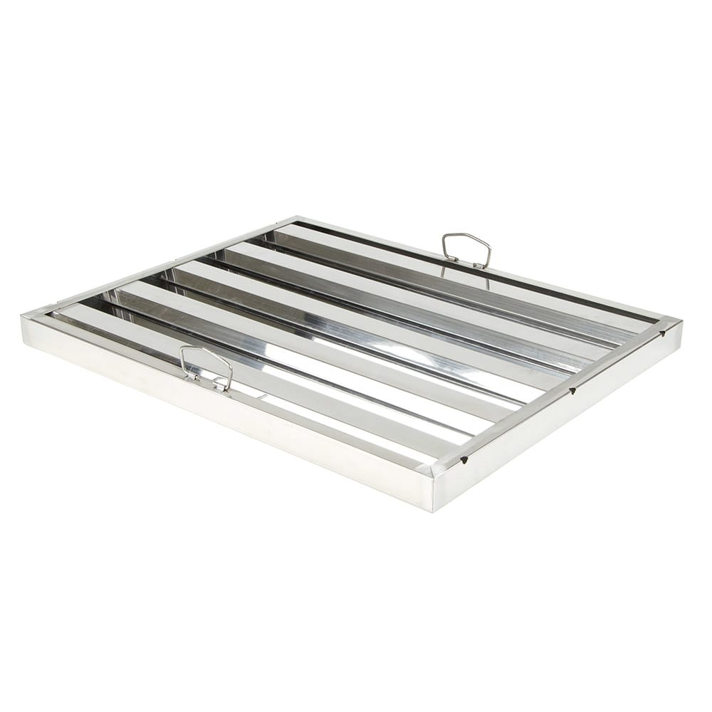 "Update HF-2025 Hood Filter - 25 x 20"" Stainless"