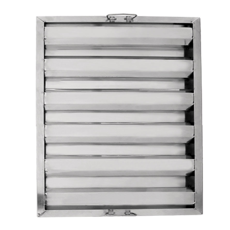 "Update HF-2520 Hood Baffle Filter - 20"" x 25"", Stainless"
